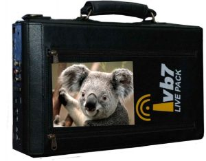The LP-6 v.2 battery operated touch screen live streaming equipment