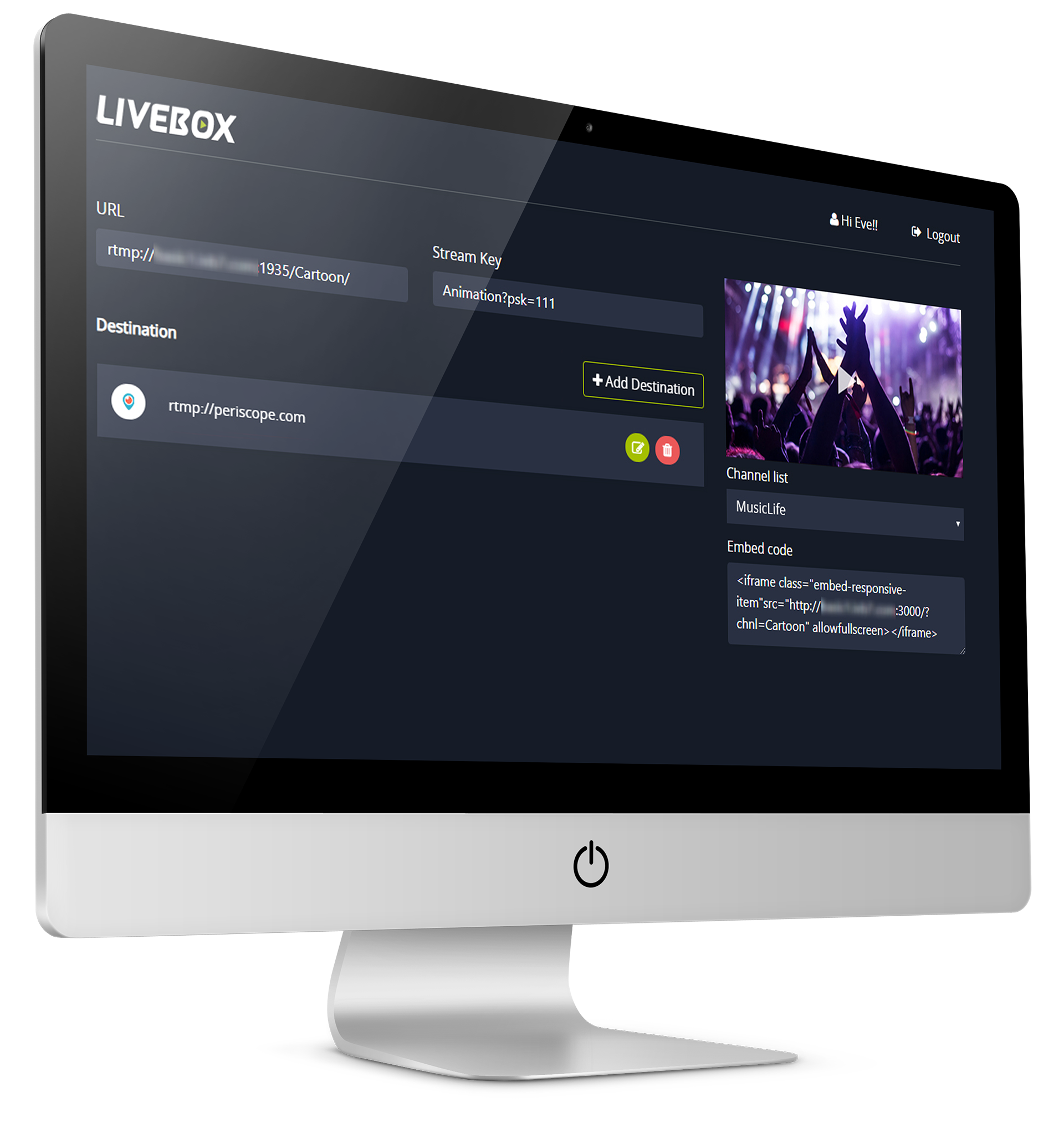 Experience the all new LiveBox Client Portal
